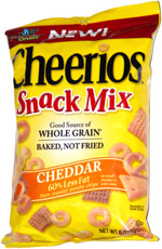 Cheerios Snack Mix Cheddar