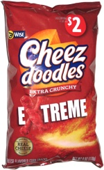 Cheez Doodles Extra Crunchy Extreme