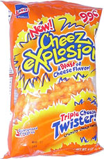 Lance Cheez Explosion Triple Cheese Twisters