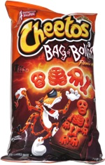 Cheetos Bag of Bones Flamin' Hot