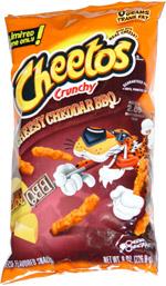 Cheetos Crunchy Cheesy Cheddar BBQ