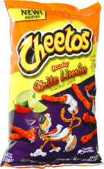 Cheetos Crunchy Chile Limon