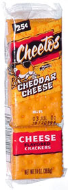 Cheetos Cheddar Cheese Crackers