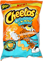 Cheetos Crunchy Twisted