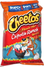 Cheetos Crunchy Flamin' Hot Chipotle Ranch