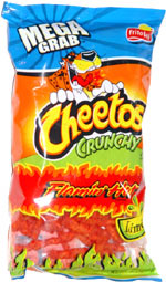 Cheetos Crunchy Flamin' Hot Limón
