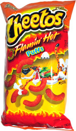 Cheetos Puffs Flamin' Hot