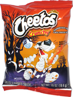 Cheetos Crunchy (glow-in-the-dark bag)
