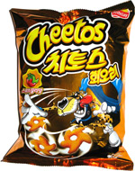 Cheetos Korean Hot Pepper