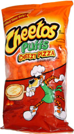 Cheetos Puffs Cheezy Pizza