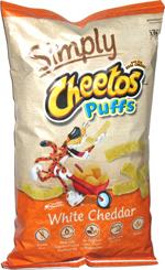 Simply Cheetos Puffs White Cheddar