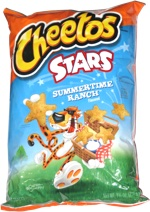 Cheetos Stars Summertime Ranch