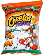 Cheetos Twisted Holiday Green