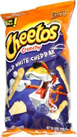 Cheetos Crunchy Wild White Cheddar