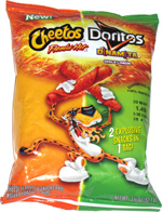 Cheetos Flamin' Hot/Doritos Dinamita Chile Lim�n