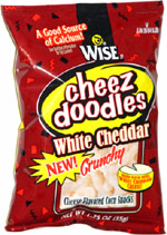 Wise Cheez Doodles White Cheddar Crunchy
