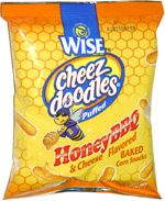Wise Cheez Doodles Honey BBQ & Cheese Flavored