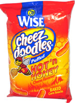 Wise Cheez Doodles Puffed Hot 'n Honey
