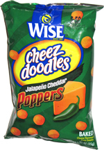Wise Cheez Doodles Jalapeño Cheddar Poppers