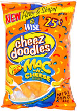Wise Cheez Doodles Mac -n- Cheese