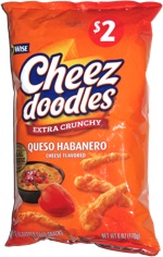 Cheez Doodles Extra Crunchy Queso Habanero