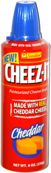 Cheez-it Pasteurized Cheese Snack (spray can)