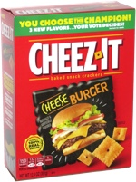Cheez-It Cheeseburger