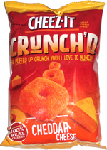 Cheez-It Crunch'd Cheddar Cheese