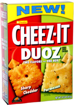 Cheez-It Duoz Sharp Cheddar Parmesan