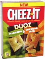Cheez-It Duoz Jalapeño & Cheddar Jack