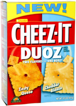 Cheez-It Duoz Zesty Queso Cheddar Blanco