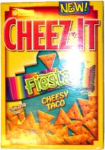 Cheez-It Fiesta Cheesy Taco