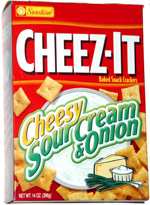 Cheez-It Cheesy Sour Cream & Onion Baked Snack Crackers
