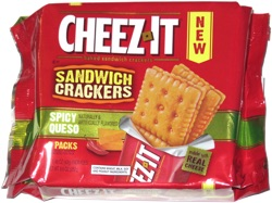 Cheez-It Sandwich Crackers Spicy Queso