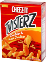 Cheez-It Twisterz Cheddar & More Cheddar