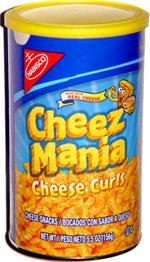 Nabisco Cheez Mania Cheese Curls
