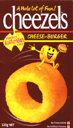 Cheezels Cheese-burger