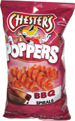 Chester's Poppers BBQ Spirals
