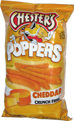 Chester's Poppers Cheddar Crunch Fries