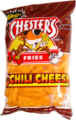 Chester's Fries Chili Cheese