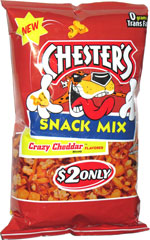 Chester's Snack Mix Crazy Cheddar