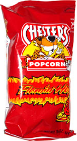 Chester's Flamin' Hot Popcorn