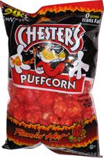 Chester's Puffcorn Flamin' Hot