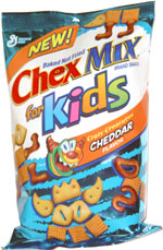 Chex Mix For Kids Crazy Creatures Cheddar