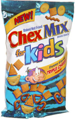 Chex Mix For Kids Funny Faces Triple Cheese Flavor