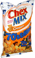 Chex Mix Cheddar 70's Edition