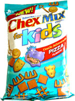 Chex Mix for Kids Castle Adventure Pizza Flavor