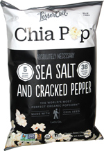 Chia Pop Sea Salt & Cracked Pepper