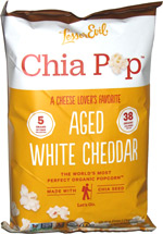 Chia Pop Aged White Cheddar
