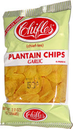 Chifles Plantain Chips Garlic